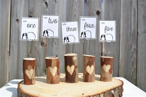 table numbers for wedding reception unique wedding reception table numbers handmade weddings 7