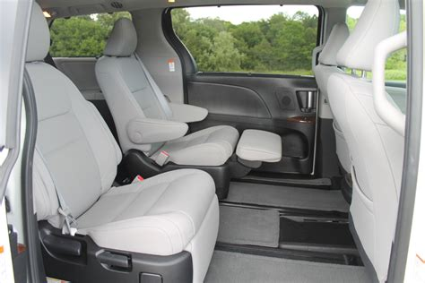 limited recline seat toyota sienna reclining rear seats toyota cars top news