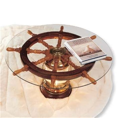 ship s wheel coffee table anniversary gift for my parents
