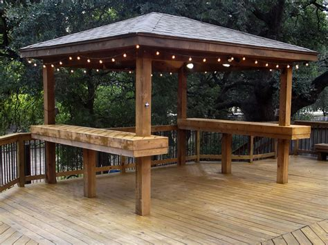 gazebi bar custom gazebos san antonio tx j r s custom decks
