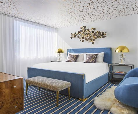 adler design quick hits jonathan adler designs a red suite for the andaz weho