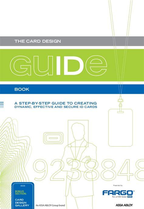 id card design manual guia de creacion de credencial fargo mexico card design