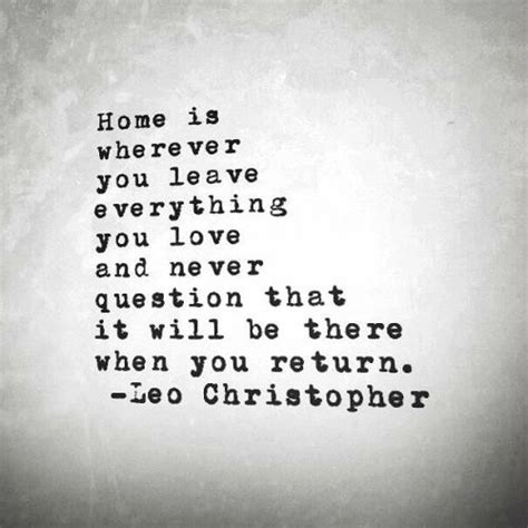 leaving home sad quotes