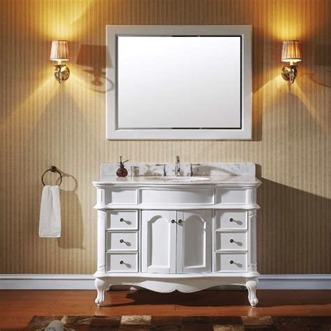 bathroom mirror 48 inch wide 48 inch white free standing vanities for a bath renovation