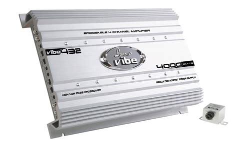 Mic Wireles Monitor Audio Ma4000 4chanel lanzar vibe432 vibe 4000 watt 4 channel mosfet lifier