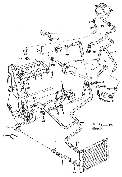 2000 jetta cooling system diagram 2001 vw jetta cooling system diagram pictures to pin on