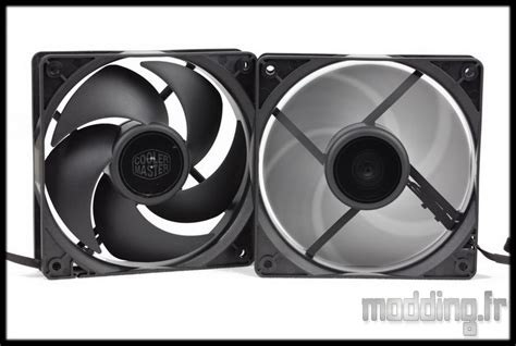 Cooler Master Silencio Fp 120 Berkualitas test ventilateur silencio fp120 cooler master modding