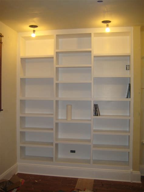diy build built in bookcase plans wooden pdf wood