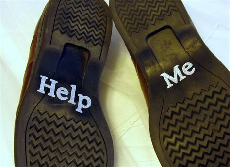 Hochzeit Schuhe Help Me by Groom S Wedding Shoe Stickers Help Me Silver Glittered