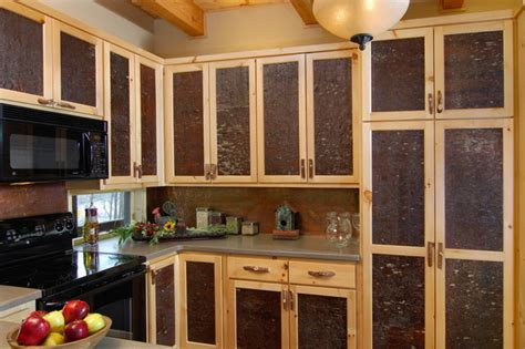 rustic white kitchen cabinet doors bark house 174 veneer laminates white pine cabinet panel