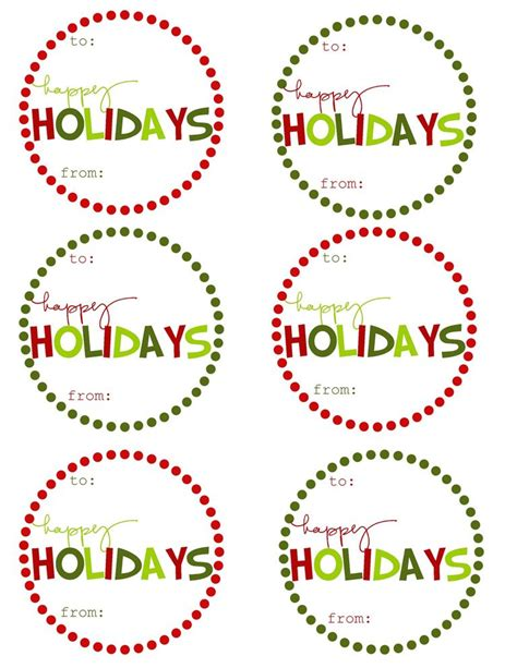 free christmas labels 41 sets of free printable gift tags