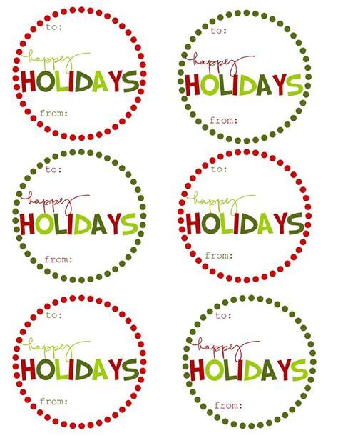 printable christmas circle tags 41 sets of free printable christmas gift tags