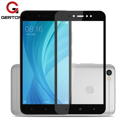 Tempered Glass Xiaomi Redmi 4a gertong tempered glass for xiaomi redmi note 5a redmi 5 5 plus 5a 4a screen protector
