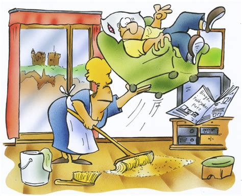 Wohnung Comic by Fr 252 Hjahrsputz By Hsb Toonpool