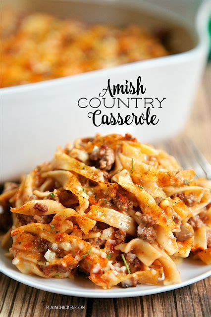 Country Comfort Food by 1000 Ideas About Hamburger Casserole On