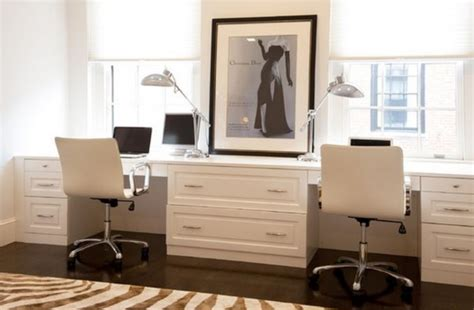 chic home office desk two person desk design ideas for your home office