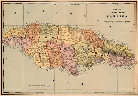 map us and jamaica nationmaster maps of jamaica 11 in total