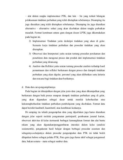 format pembuatan artikel ilmiah contoh proposal ptk dan artikel ilmiah