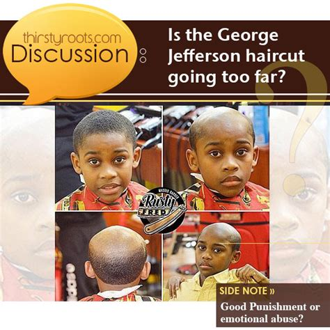 oif cut hair to look like george jefferson george jefferson haircut for kids