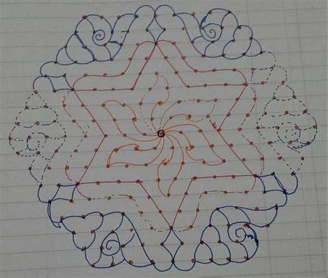 dot pattern rangoli designs rangoli designs with dots rangoli rangoli designs
