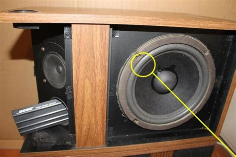 Speaker Bose 18 Inch foam surround to repair bose 301 woofer