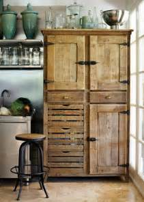 kitchen cabinets made from recycled pallet wood