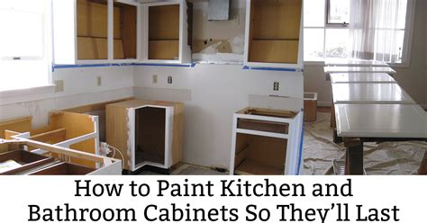 How Does A Kitchen Last by How To Paint Kitchen Cabinets So They Last This Method Works Envy