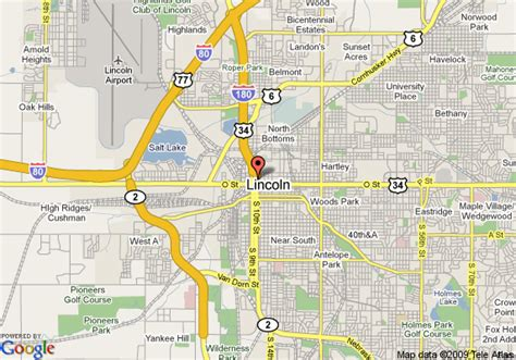 directions to lincoln ne map of embassy suites hotel lincoln lincoln