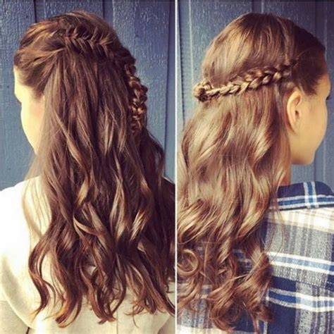 hairstyles with half up and half 23 half up half hairstyle trends for 2016