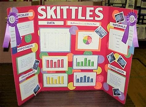 skittles science fair project instructions owlcation