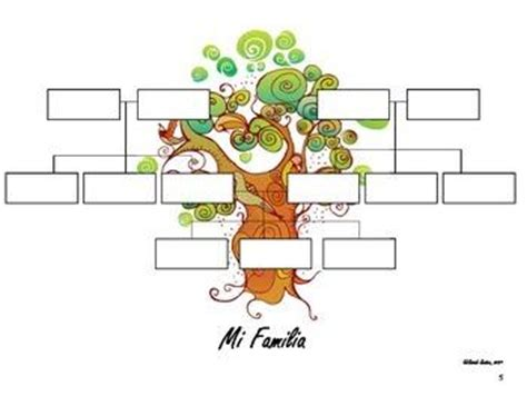 printable family tree in spanish red oak middle school teachers claudia vent announcements