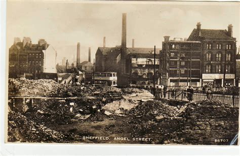 www history photos sheffield sheffield during the war sheffield
