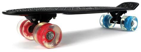 Board Light Up Wheels by Complete Plastic Deck Skateboard Banana Board W
