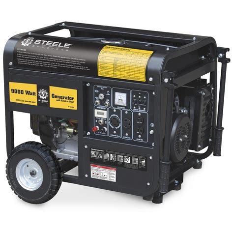 steel 174 products 9 000 watt generator 156661 portable