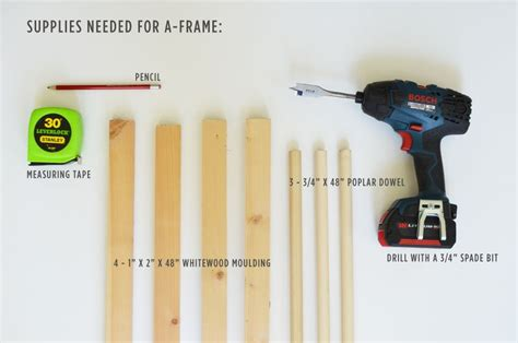 build an a frame make your own a frame tent a beautiful mess