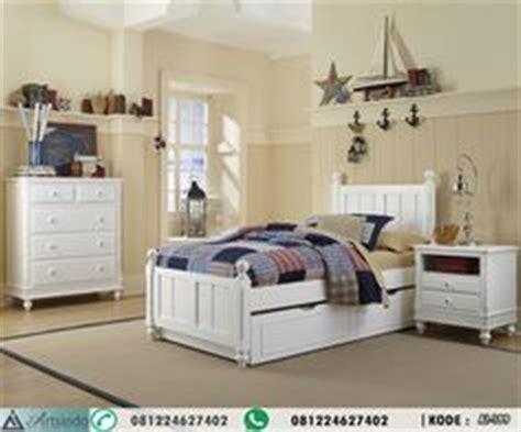 Dipan Laci Putih Single Bed Ranjang Laci Putih Single desain tempat tidur anak perempuan princess kskta 368