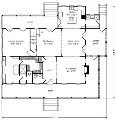 southern living open floor plans southern living house plan house plans pinterest