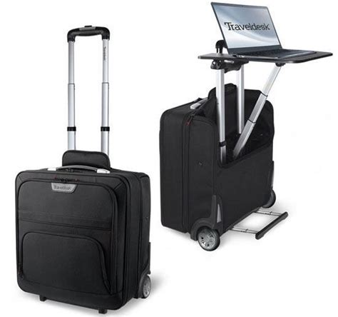 Travel Laptop Desk with Bugatti Travel Desk Business Bag Laptop Desk Gadgetify