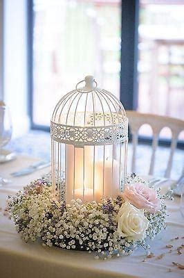 shabby chic wedding table centerpieces shabby chic wedding decor birdcage centrepieces 2545670