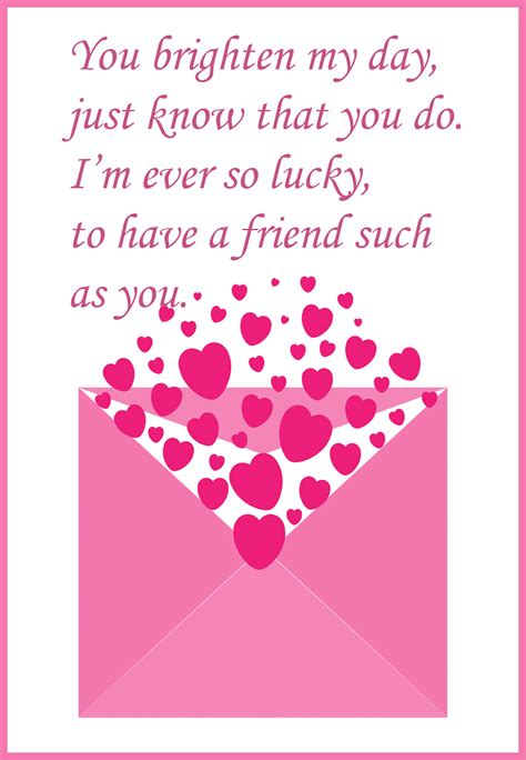 9 best images of printable s cards for friends free printable cards best