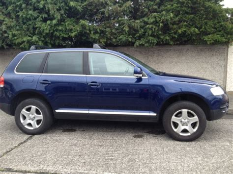 manual cars for sale 2005 volkswagen touareg spare parts catalogs volkswagen touareg blue 2005 for sale in malahide dublin from ntmce