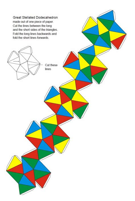 Best Photos Of Dodecahedron Cut Out 4 Pieces 12 Sided 3d - 33 best images about geometrische figuren on