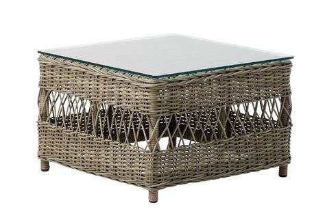 Table De Jardin En Metal 1704 by Table Basse Repose Pieds Avec Coussin Blanc 60x60x42cm
