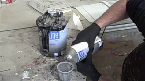 mixing sand with paint for garage floor how to mix epoxy primer in hd