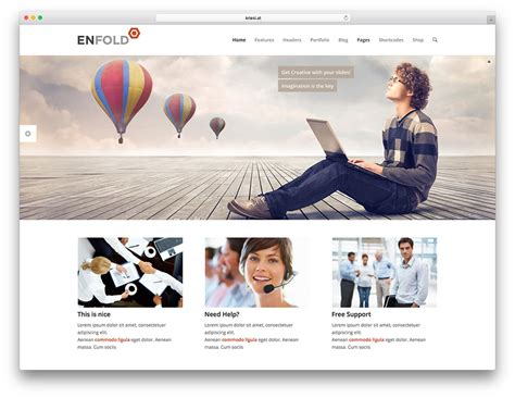 enfold theme header color 50 best wordpress corporate business themes of 2018