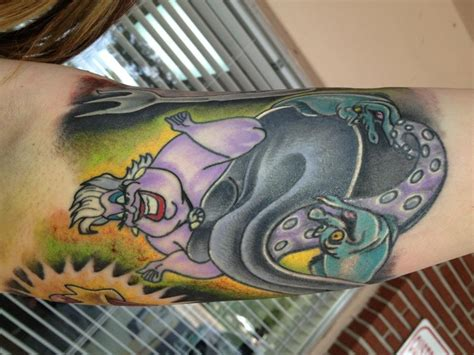 ursula tattoo ursula did you ursula is not an octopus shes