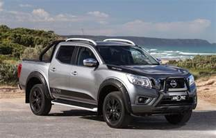Nissan Frontier Special Edition 2017 Nissan Navara Bulks Up With N Sport Black Edition