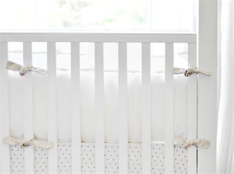 White Bumper Crib by Crib Bumpers White Creative Ideas Of Baby Cribs