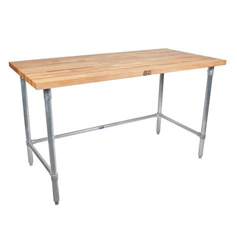 john boos work table john boos butcher block work tables