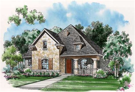 English Country House Plans | english country style house plans 2148 square foot home